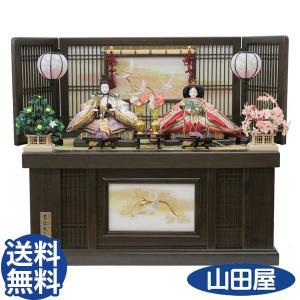 雛人形 吉徳大光 親王収納飾り 305-743 江都雅|bb-yamadaya