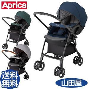 ベビーカー バギー 新生児 A型 アップリカ ラクーナ クッション AC オート4キャス ゆれぐらガード LUXUNA Cushion 送料無料|bb-yamadaya