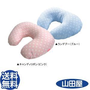 6重ガーゼ マルチクッション ランデブー キャンディリボン 授乳 ドット グランドール Multi Cushion 送料無料|bb-yamadaya