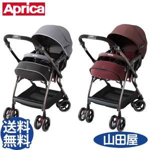 ベビーカー A型 バギー 新生児 アップリカ オプティア プレミアム AB オート4キャス 両対面 ワイドシート Optia Premium|bb-yamadaya