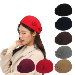 ベレー帽 フェルトハット 帽子 ウール レディースハット ピルボックスハット ハット フェルト ベレー 帽子 レディース帽子 FELT HAT 3030|bbdirect