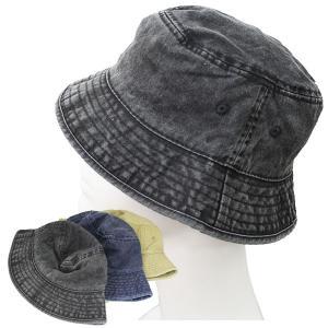 デニム バケットハット 帽子 コットン バケット帽 無地 ハット サファリハット メンズ レディース HAT 1501|bbdirect