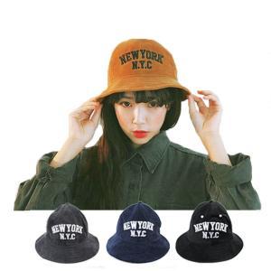コーデュロイ バケットハット 帽子  ハット カジュアル バケット帽 NEWYORK N.Y.C チューリップハット メンズ レディース CAP 1508|bbdirect