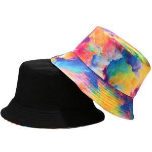 タイダイ染め バケットハット 帽子 エスニック バケット帽 サファリハット メンズ レディース CAP 1515|bbdirect