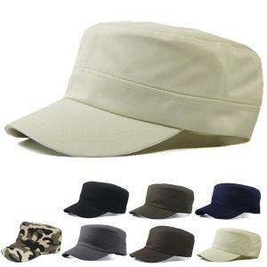 ワークキャップ 帽子 コットン 無地 キャップ 綿 迷彩 ミリタリー風 軍帽子メンズ レディース CAP 6113|bbdirect