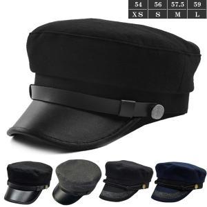 ワークキャップ 学生帽 帽子 無地 制帽 マリンキャップ 合皮 レース飾 レザーつば キャスケット キャップ メンズ レディース キッズ 子供用 CAP 6130|bbdirect