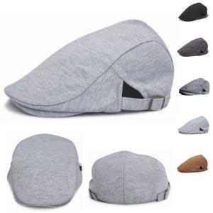 シンプルなハンチング キャップ コットン 帽子 無地 綿 ハンチング帽 キャスケット メンズ(男性用) レディース(女性用) 春 夏 HUNTING CAP 7104 bbdirect