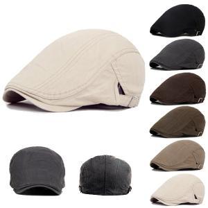 帽子 コットン ハンチング シンプル ハンチングキャップ 無地 綿 ハンチング帽 キャスケット メンズ(男性用) レディース(女性用) HUNTING CAP 7129 bbdirect