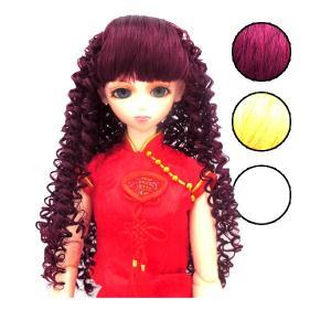 ドールウィッグ ソバージュ カール SD・DD・オビツ60対応 Doll Wig|bbdirect