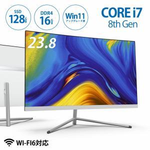 パソコン 新品 デスクトップ モニタ付き Win10 Skynew W2 WIFI6対応 i7-Core 8565U bbest