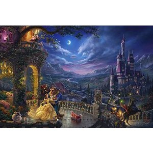 トーマス・キンケード - ディズニーコレクション - 美女と野獣 月光の下のダンス 750ピース|bbmarket
