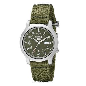 [セイコー] SEIKO 5 腕時計 自動巻き 海外モデル ミリタリー カーキ グリーン SNK805K2 メンズ [逆輸入品]|bbmarket
