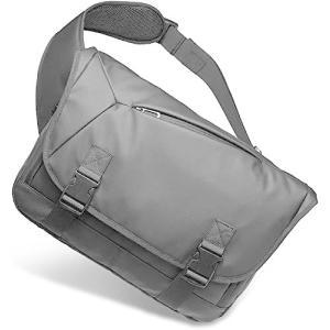 [Bellstone] メッセンジャーバッグ 大容量 肩掛け 防水 斜め掛け ボディバッグ メンズ PC A4収納可 BS-BG-1805 (黒) bbmarket