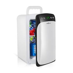 Rockpals 冷温庫 冷蔵庫 小型 −2℃~60℃ 10L 保冷庫 ミニ冷蔵庫 温度調節可能 温度表示 保冷ボックス 小型冷蔵庫 2システム 保温 bbmarket