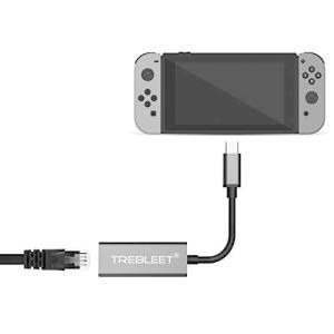 Nintendo Switch本体専用 有線LANアダプター【ドック不要】 bbmarket