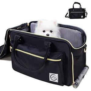 WinSun オシャレ 猫 キャリー バッグ 3way 犬 キャリー バッグ ペットキャリー バッグ ショルダー 中大型猫用 小型犬 うさぎ用 ペット bbmarket