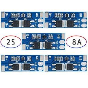 DiyStudio 2S 7.4V 8.4V 8A 18650リチウム電池保護ボードBMS PCM 充電器保護モジュールリチウムイオンバッテリーバッテ|bbmarket