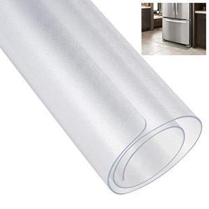 [ECO PLUS] 冷蔵庫 マット キズ防止 凹み防止 床保護シート Mサイズ 65×70cm ?500Lクラス 厚さ2mm 無色 透明 国内正規一 bbmarket