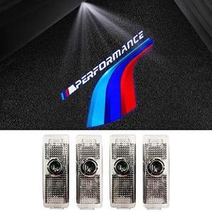 ロゴライトドア に適用する BMW3 5 7シリーズ(E60 E90 F01 F10 F30) , 2つのLED ドアプロジェクターウェルカムライト bbmarket