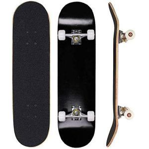 Sumeber スケボー スケートボード 初心者 コンプリート 31インチ ABEC-7ベアリング PUウィール メープルデッキ 12月保証 子供用|bbmarket