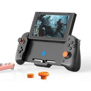 「最新版」Switch コントローラー、Nintendo Switch用の左右のJoy-Consを備えた拡張グリップコントローラー、有線スイッチPro bbmarket