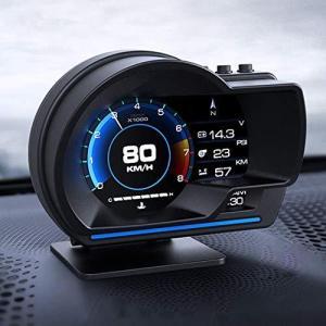 目盛りが見やすい ヘッドアップディスプレイ OBD2+GPSモード タコメーター エラーコード消去 ECUのデータを読み取る 表示改良 警告機能付き bbmarket