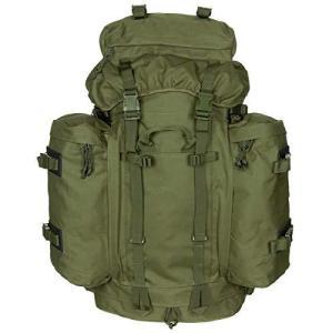 MFH バックパック BWドイツ連邦軍タイプ MOUNTAIN サイドバッグ着脱 100L アルミフレーム搭載 OD GREEN bbmarket