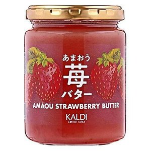 【KALDI】あまおう苺バター 255g(季節限定) bbmarket