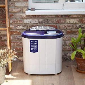 シービージャパン 洗濯機 ホワイト 予洗い 事前洗い 小型 二層式 ステンレス脱水槽 マイセカンドランドリーハイパー comtool|bbmarket