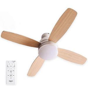 VENTOTA シーリングファンライト リモコン付 LED調光調色 タイマー 風量調節ForteNA|bbmarket
