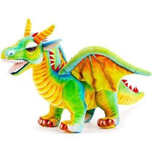 TigerTaleToys ( タイガーテールトイズ ) 竜 ドラゴン ぬいぐるみ リアル 60センチ ペット 大きい かっこいい 恐竜 鮮やか 【日|bbmarket