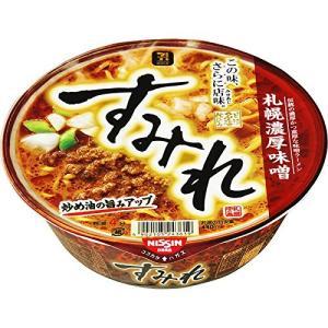日清食品 すみれ 札幌濃厚味噌 139g×12個 bbmarket