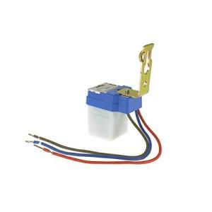 後付け 明るさ(CDS)センサー 照明器具用 暗くなったら自動点灯 明るくなった自動消灯 IP44防滴 AC85-265V 50/60Hz (1個)|bbmarket