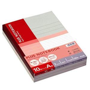 プラス ノート セミB5(6号)A罫30枚10冊パック NO-003AJ-10P 75-085|bbmarket