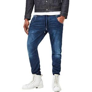 G-Star RAW(ジースターロゥ) メンズ スウェット ジーンズ ジョグデニム インディゴ リーントレーナー D04140-8605|bbmarket