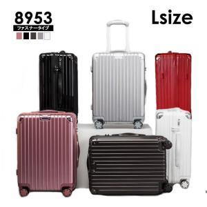 スーツケース Lサイズ 大型 軽量 キャリーケース キャリーバッグ ファスナー TSAロック 大容量 旅行用品 ポリカーボネート|bbmonsters