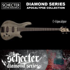 シェクター SCHECTER ベース / C-4 APOCALYPSE AD-C-4-APOC C4 アポカリプス アポカリプスコレクション 4弦 ブラック(黒) ダイヤモンドシリーズ 送料無料|bbmusic