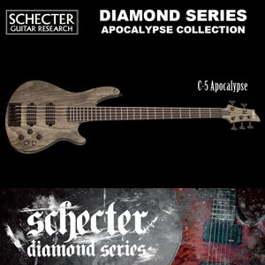 シェクター SCHECTER ベース / C54 APOCALYPSE AD-C-5-APOC C5 アポカリプス アポカリプスコレクション 5弦 ブラック(黒) ダイヤモンドシリーズ 送料無料|bbmusic