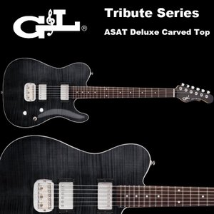 G&L Tribute Series / ASAT Deluxe Carved Top Trans ...