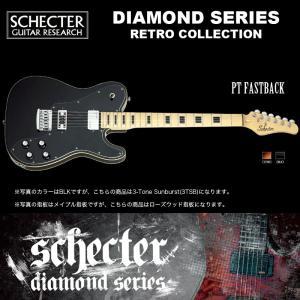シェクター SCHECTER / PT FASTBACK 3TSB / AD-PT-FB サンバースト テレキャスター ダイヤモンドシリーズ 送料無料|bbmusic