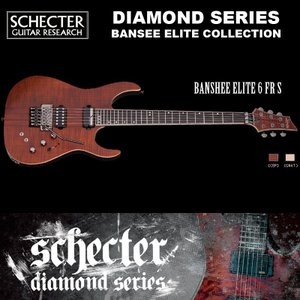 シェクター SCHECTER / BANSHEE ELITE 6 FR S キャッツ・アイ・パール AD-BS-EL-FR/SN バンシー エリート FR サステイニアック ダイヤモンドシリーズ 送料無料|bbmusic