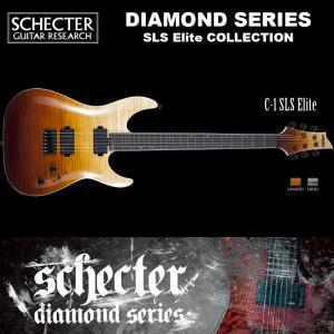 シェクター SCHECTER / C-1 SLS Elite | AD-C-1-SLS-EL | C1 SLSエリート アンティーク フェイド バースト  ダイヤモンドシリーズ 送料無料|bbmusic
