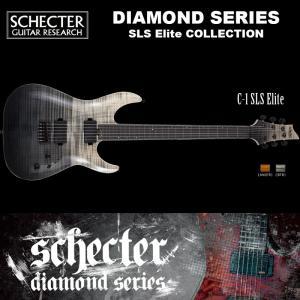 シェクター SCHECTER / C-1 SLS Elite | AD-C-1-SLS-EL | C1 SLSエリート ブラック フェイド バースト (黒)  ダイヤモンドシリーズ 送料無料|bbmusic