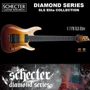 シェクター SCHECTER / C-7 FR SLS Elite | AD-C-7-FR-SLS-EL | C7 フロイドローズ SLSエリート 7弦ギター アンティーク ダイヤモンドシリーズ 送料無料|bbmusic