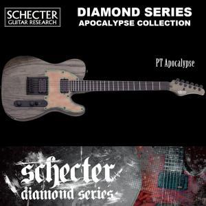 シェクター SCHECTER / PT APOCALYPSE AD-PT-APOC  アポカリプス テレキャスタータイプ ダイヤモンドシリーズ ソフトケース付 送料無料|bbmusic