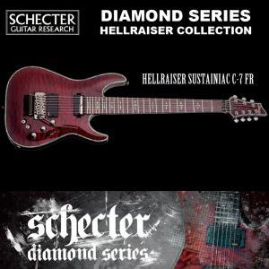 シェクター SCHECTER / Hellraiser Sustainiac C-7 FR BCH 7弦ギター ダイヤモンドシリーズ 送料無料|bbmusic