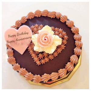 チョコレートケーキ5号(15cm)<ホワイトデー2018>自...