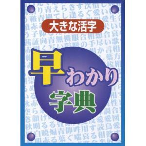 半額 新品 早わかり字典  大きな活字 漢字 バーゲンブック 送料無料|bbooks