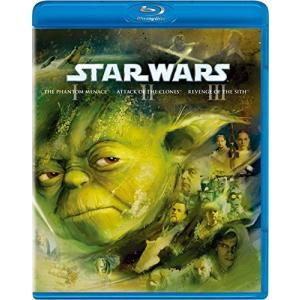 スター・ウォーズ プリクエル・トリロジー3枚組 BD   Blu-ray   ブルーレイ   スターウォーズ   SF   エピソード 1 2 3   DVD|bbooks