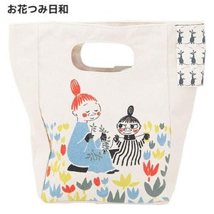 ムーミン ハンドルランチバッグ お花つみ日和 /|bbooks